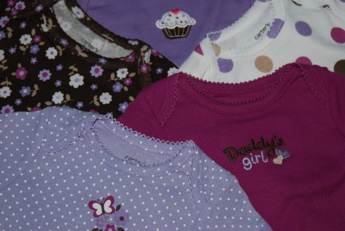 Carters Daddy's Girl Multi-Pack Bodysuits- 9-12 mo.