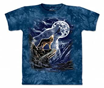 The Mountain Men's Wolf Spirit Moon T-shirt S