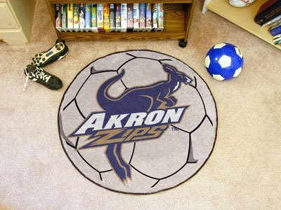 Akron Soccer Ball Rug by Fanmats