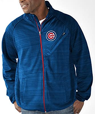 "Chicago Cubs MLB G-III ""Full Count"" Men's Full Zip Track Jacket"