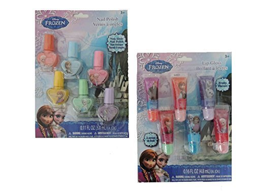 Disney Frozen Nail Polish and Lip Gloss by animecorner