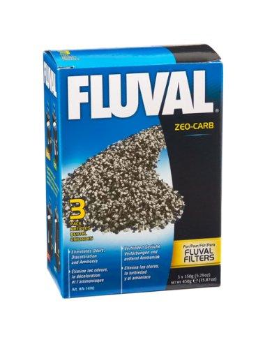 Fluval Zeo-Carb, 150 Gram, 3-Pack Nylon Bags