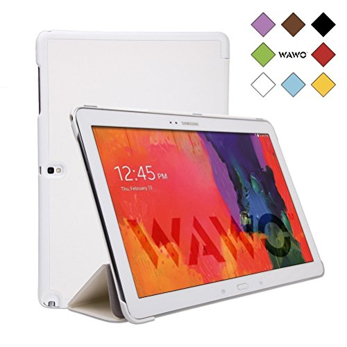 Wawo Samsung Galaxy Note & Tab Pro 12.2 Tablet Smart Fold Case Cover - White front-1009995