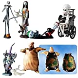 Tim Burton's the Nightmare Before Christmas - Trading Figure Series 1 - Set of 6