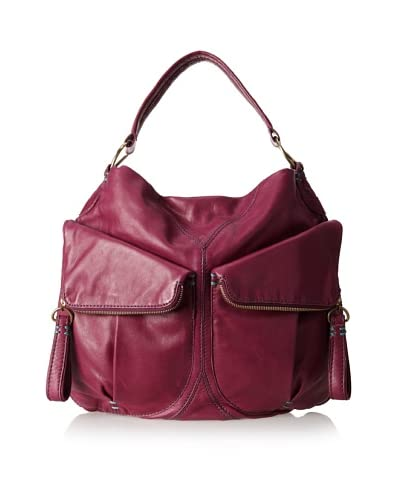 49 Square Miles Women's Big Mouth Hobo, Loganberry