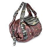 Alonzo Women's Handbag (Mehroon)