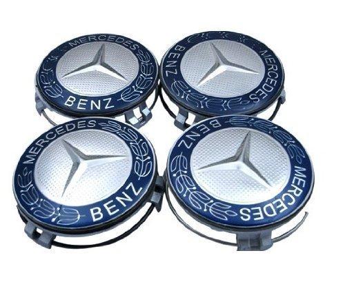 4-x4-x-original-mercedes-benz-coprimozzi-ruota-corona-di-alloro-tappo-di-copertura-coprimozzo-coperc