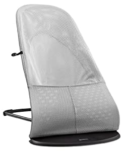 BABYBJORN Bouncer Balance Soft, Black/Gray, Mesh