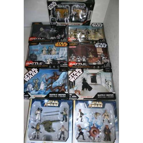 9 Star Wars Battle Pack sets Toys & Games