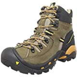 KEEN Women's Oregon PCT Waterproof Hiking Boot,Brindle/Inca Gola,9 M US