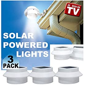 Milex As Seen on TV Solar Smart Night Lights Power Energy From Sun Detachable Lighthead