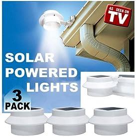 Milex As Seen on TV Solar Smart Night Lights Power Energy From Sun Detachable Lighthead