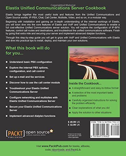 Elastix Unified Communications Server Cookbook