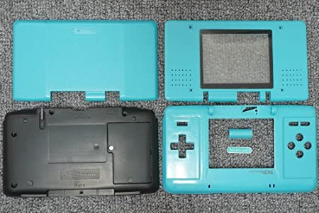 Light Blue Original Nintendo DS Complete Full Housing Shell Case Replacement Repair Fix [video games]