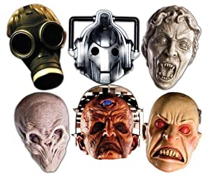 Doctor Who Monster Masks Pack of 6 different