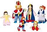 Goki Flexible Puppets Royal Family
