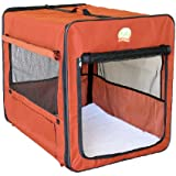 Go Pet Club AB43 43-Inch Soft Dog Crate, Brown