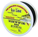 Woodstock Line TU-50-25-B No. 25 Tip-Up Line, Black, 25-Yard