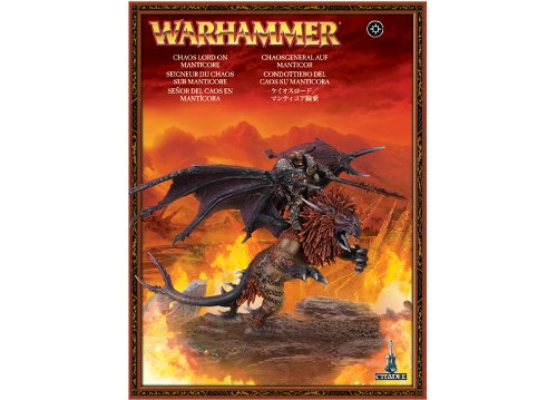 Warriors of Chaos: Chaos Lord on Manticore (2011)