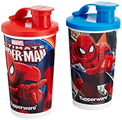 Tupperware Spider-Man Tumbler Set, 355ml, Set of 2