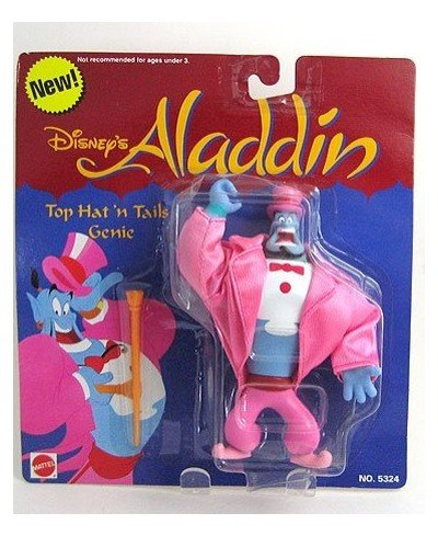Buy Low Price Mattel DISNEY'S ALADDIN TOP HAT N TAILS GENIE ACTION FIGURE (B003DQDB86)