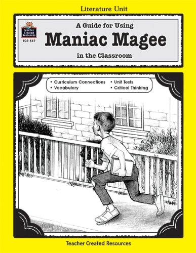 Maniac Magee Free Book Notes, Summaries, Cliff Notes and Analysis