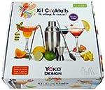 Yoko Design 1245 Kit Cocktails Acier...