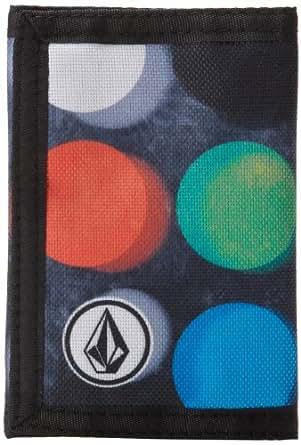 Volcom Men's Circle Patch Wallet, Dot Mess, One Size