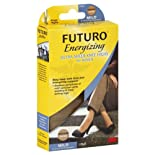Futuro Energizing Knee Highs, Ultra Sheer, Medium, Nude