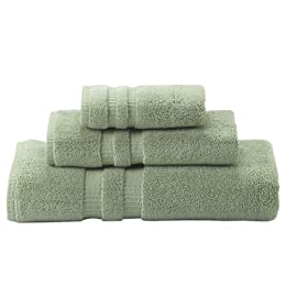 Thomas O'Brien 3pc Towel Set - Soft Sage
