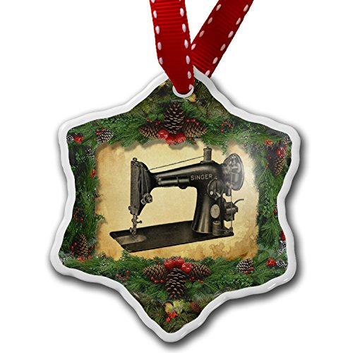 Christmas Ornament Sewing machine - Neonblond