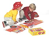 Giant Fire Engine Floor Puzzle School Specialty Publishing