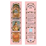 Hand-Rolled Incense Sticks- Pure Sandalwood Ancient Indian Temple Agarbatti Pack Of 2 (40 Sticks)