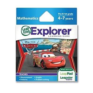 LeapFrog Explorer Learning Game: Disney-Pixar Cars 2 (works with LeapPad & Leapster Explorer) from LeapFrog