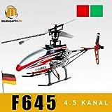 MJX F45 - 4 Kanal RC Helicopter F645, 2.4 GHz, grün