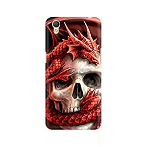 Ebby Dragon Skull Premium Printed Case For Oppo A37