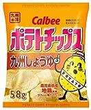 カルビー ポテトチップス九州しょうゆ味 58g×12袋