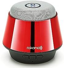 Rokono® (B10) BASS+ Mini Bluetooth Lautsprecher für iPhone / iPad / iPod / MP3 Player / Tablet-PC / Notebook - Rot