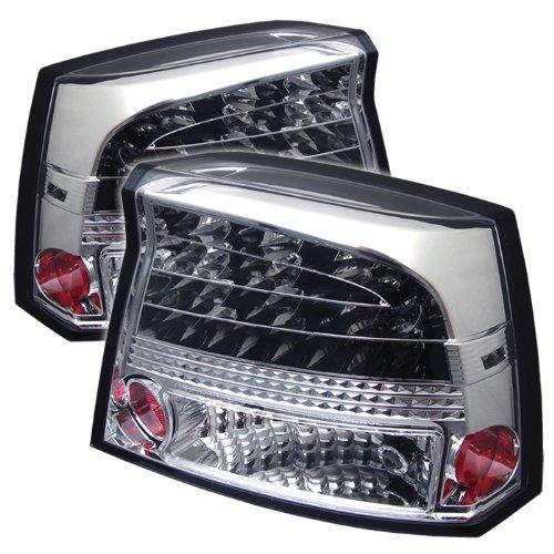 Spyder Dodge Charger 05-08 Led Tail Lights - Chrome