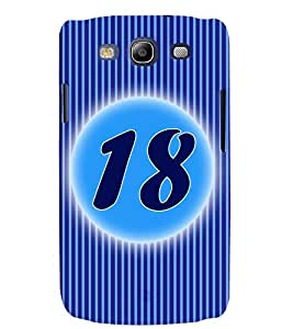 Fuson 3D Printed Numerology Designer back case cover for Samsung Galaxy S3 Neo - D4236