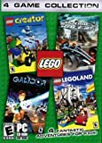 Lego 4 Game Collection (Legoland, Creator, Drome Racers and Galidor)