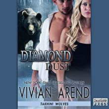 Diamond Dust: Takhini Wolves, Book 3 (       UNABRIDGED) by Vivian Arend Narrated by Madison Vaugh