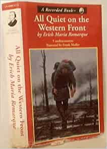 the view of nationalism in all quiet on the western front by erich maria remarque Considered by many the greatest war novel of all time, all quiet on the western front is erich maria remarque's masterpiece of the german experience.