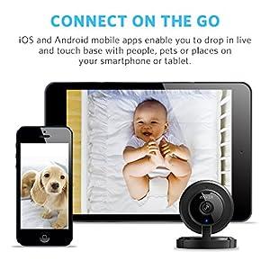 ANKER AnkerCam Cámara inalámbrica Wi-Fi Monitoreo de video IP / Cámara de red Vigilancia / Cámara de seguridad Baby Monitor con calidad HD de 720p, vista de 110 °