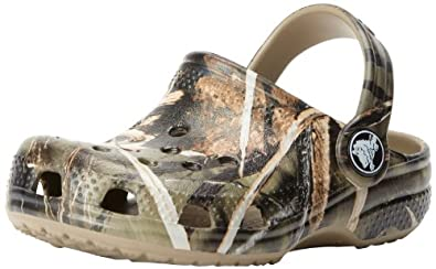Buy Crocs Classic Realtree V2 (Toddler Little Kid) by Crocs