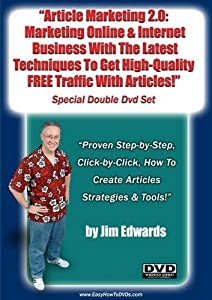 """Article Marketing 2.0: Marketing Online and Internet Business With The latest Techniques To Get High-Quality; Free Traffic With Articles..."""