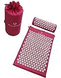 Akupressur-Set »Jimuta« / Tasche + Matte + Kissen / Akupressur- und Massagematte zur effektiven Lockerung und Lösung von Verspannungen / in verschiedenen fröhlichen Farben erhältlich.