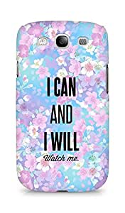 AMEZ i can and i will watch me Back Cover For Samsung Galaxy S3 Neo