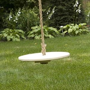 "Round Tree Swing (16"" diameter) - Forest Green"