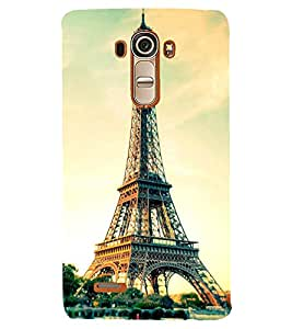 PRINTSHOPPII EIFFEL TOWER PARIS Back Case Cover for LG G4::LG G4 H815